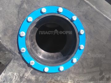 Муфта для герметизация труб и кабеля