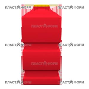 Прямоугольный Бак БП-1000 из пластика