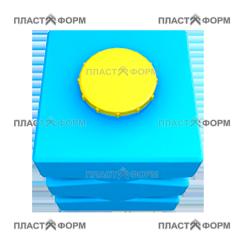 Прямоугольный Бак БП-500
