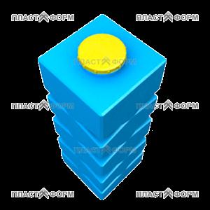 Прямоугольный пластиковый Бак БВП-1000