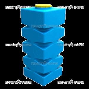 Прямоугольный Бак БВП-1000 из пластика