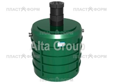 Трехкамерный септик Alta Ground Master