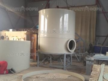 Пластиковый бункер для зерна