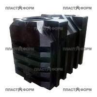 Односекционный пластиковый септик
