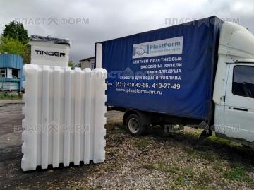 Продажа пластиковых погребов Тингард