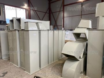 Производство пластиковых воздуховодов