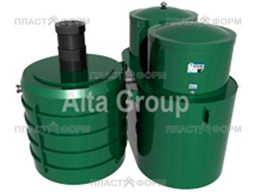 Автономная канализация для дачи Alta Bio 10+ UV блок