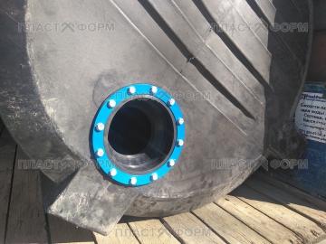 Гермоввод (муфта) для герметизация труб и кабеля