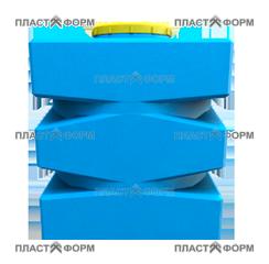 Прямоугольный Бак БП-500 из пластика