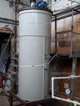 Химический реактор с перемешивающим устройством