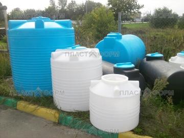 Пластиковые Емкости ЭВЛ 1000 литров