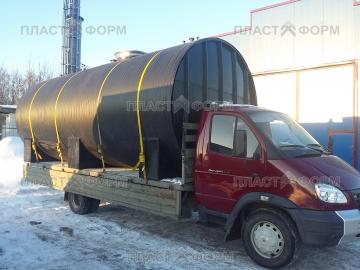 Транспортировка резервуара для воды
