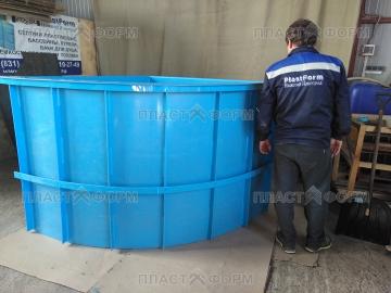 Производство купели для бани из полипропилена