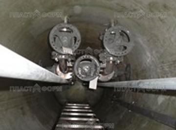 Канализационная насосная станция (КНС) - вид изнутри