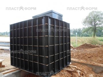Подготовка к установке пластикового погреба