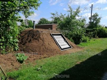 Установка погреба Тингард