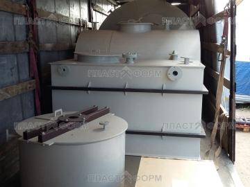 Емкости и резервуары из пластика на заказ